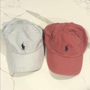 Polo by Ralph Lauren hats x 2!